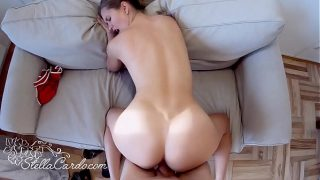 Beautiful Girl Sucking and Cowgirl on Dick Friend of the Father Cumshot on Xvideos