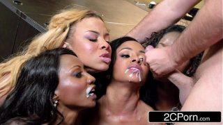 Cumshot Compilation Brazzers Edition #1 – Dakota Skye, Miley May, Jasmine James