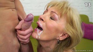 TOP 15 Granny cumshots, facials,milf pussy penetration on Xvideos