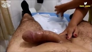WAXING CUMSHOT COMPILATION – 1HR  LONG – PornCoaster.com